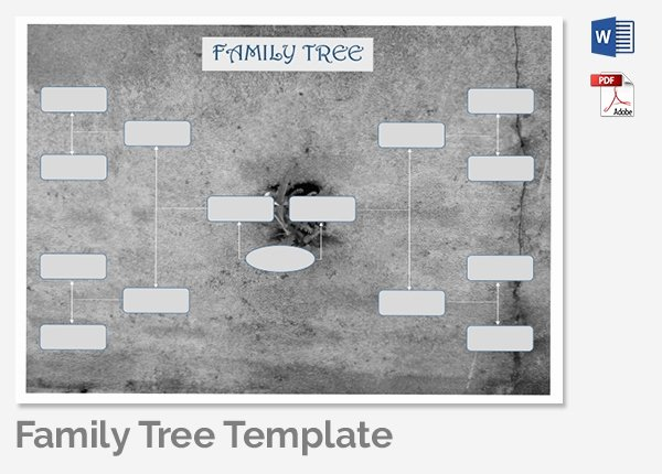 Family Tree Template Doc Luxury Family Tree Template 37 Free Printable Word Excel Pdf
