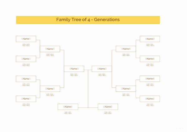 Family Tree Template Doc New 34 Family Tree Templates Pdf Doc Excel Psd