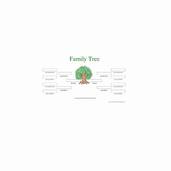 Family Tree Template Microsoft Office Awesome Free Printable Family Tree Templates Great Resources for