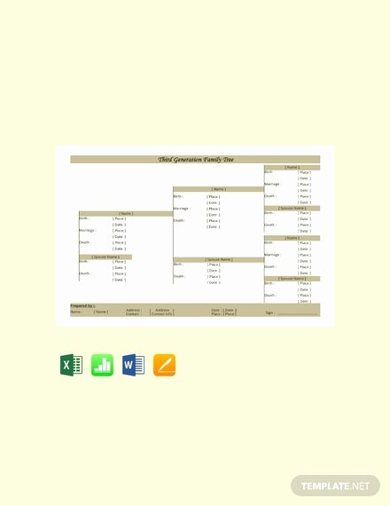 Family Tree Template Microsoft Office Lovely 11 Free Family Tree Templates In Microsoft Excel