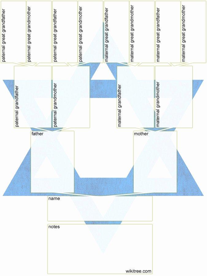 Family Tree Templates In Spanish Fresh Free Printable Family Tree Diagrams