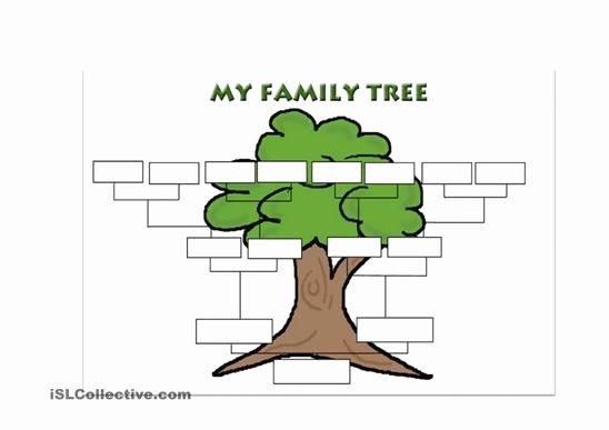 Family Tree Templates In Spanish Luxury 27 Of Spanish Worksheet Family Tree Template