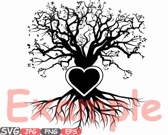 Family Tree Word Art Best Of Family Tree Heart Frame Svg Word Art Family Quote Clip