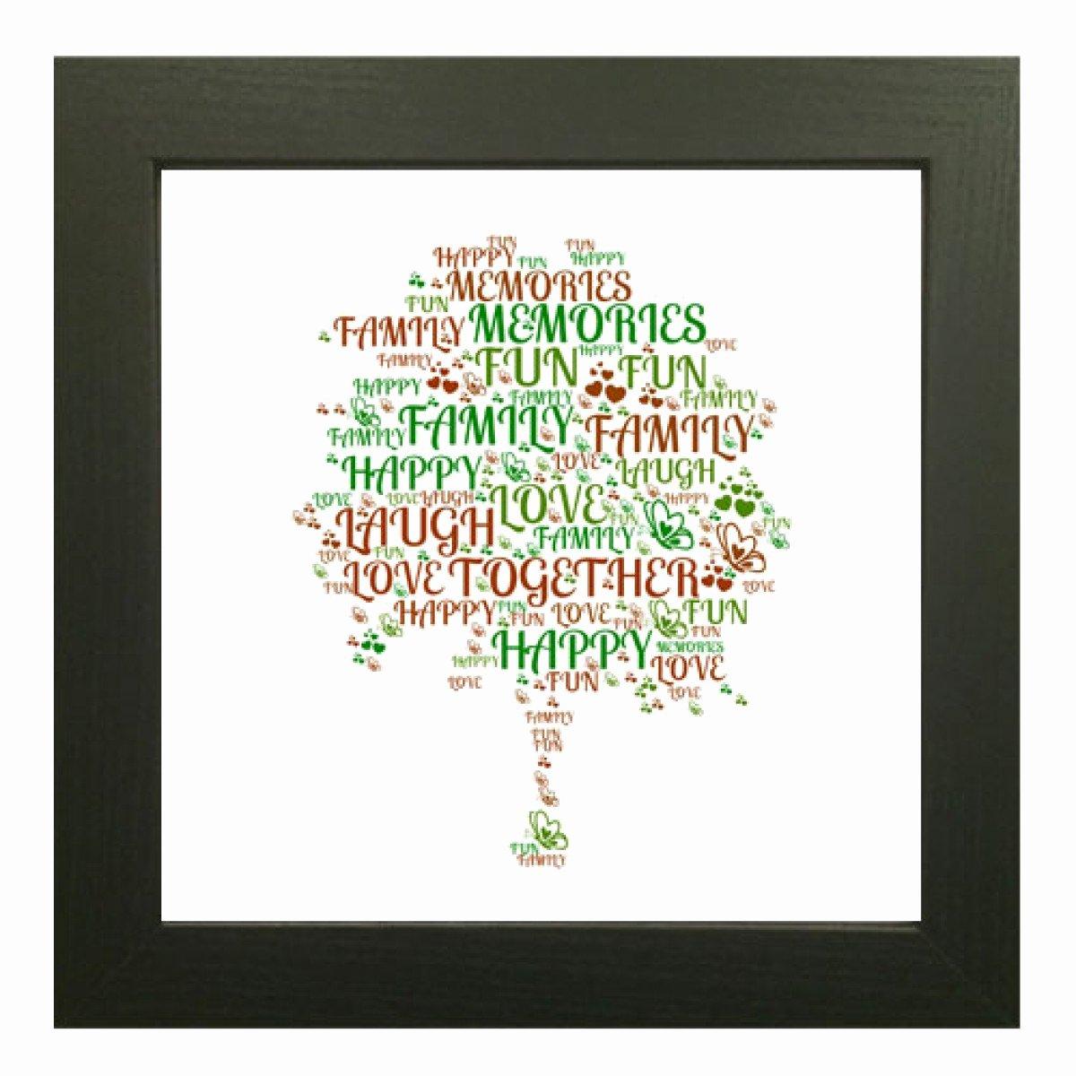 Family Tree Word Art Best Of Word Art Family Tree