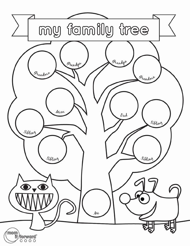 Family Tree Worksheet Printable Lovely Best 25 Family Tree Worksheet Ideas On Pinterest