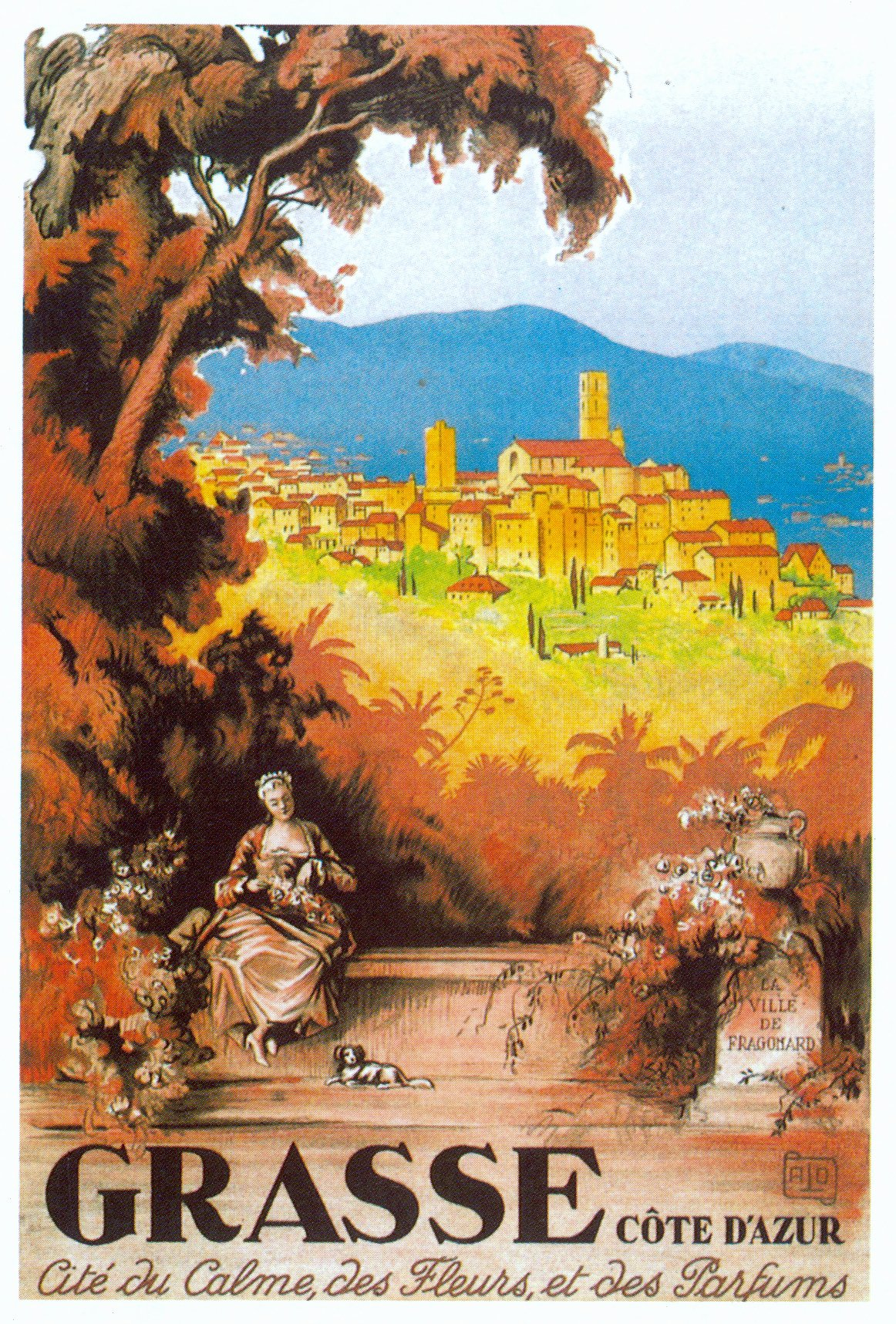 Famous Art Deco Posters Beautiful Postcard Of the Week the French Riviera – the Well