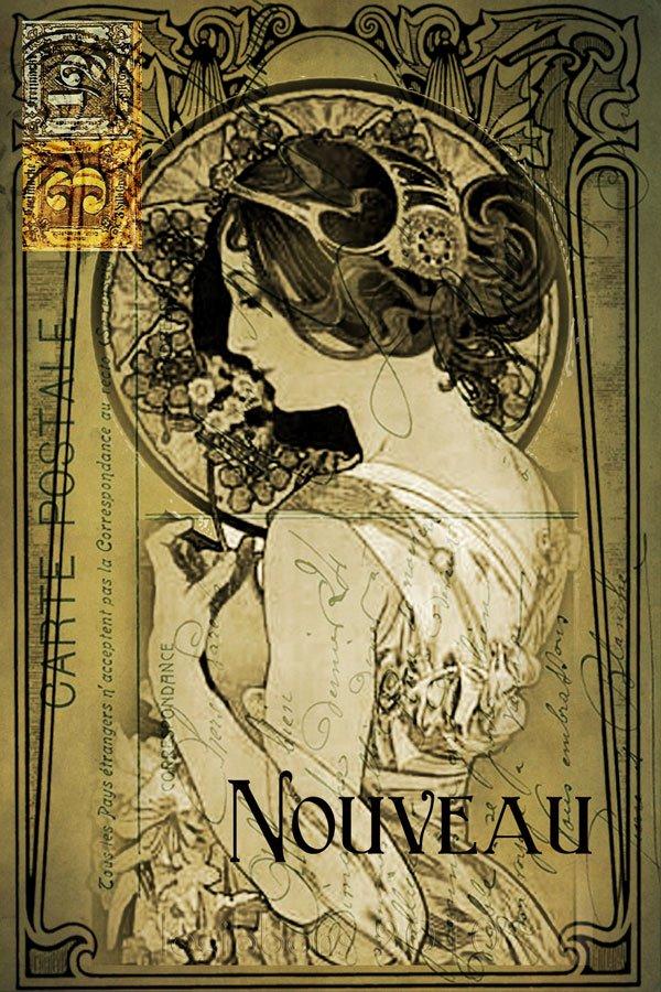 Famous Art Deco Posters Fresh Art Nouveau Sampler