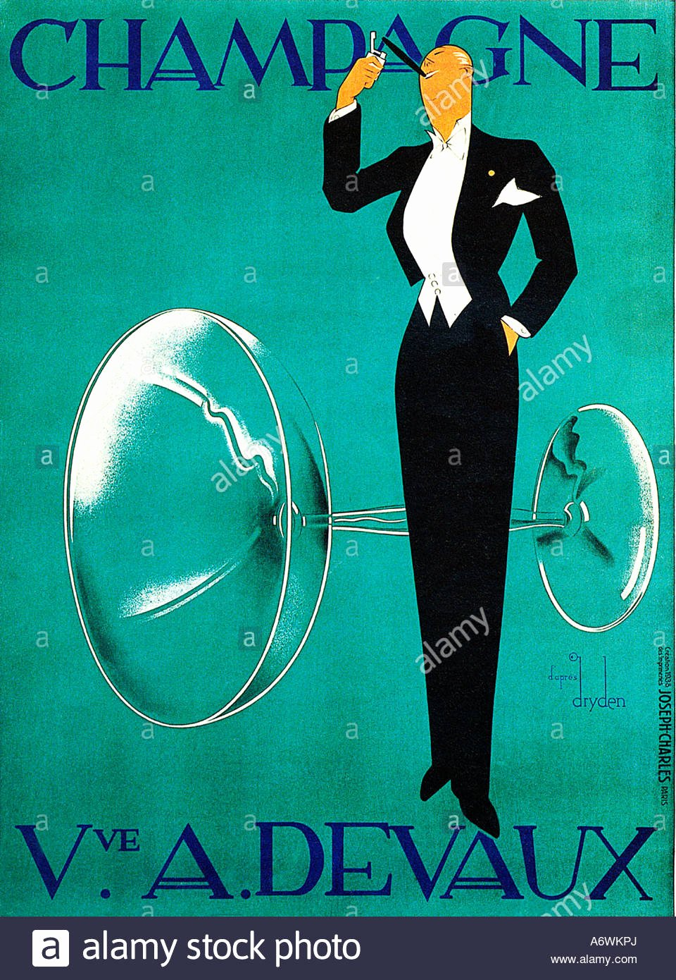 Famous Art Deco Posters Fresh Champagne Devaux the Famous 1930s Art Deco Poster for the