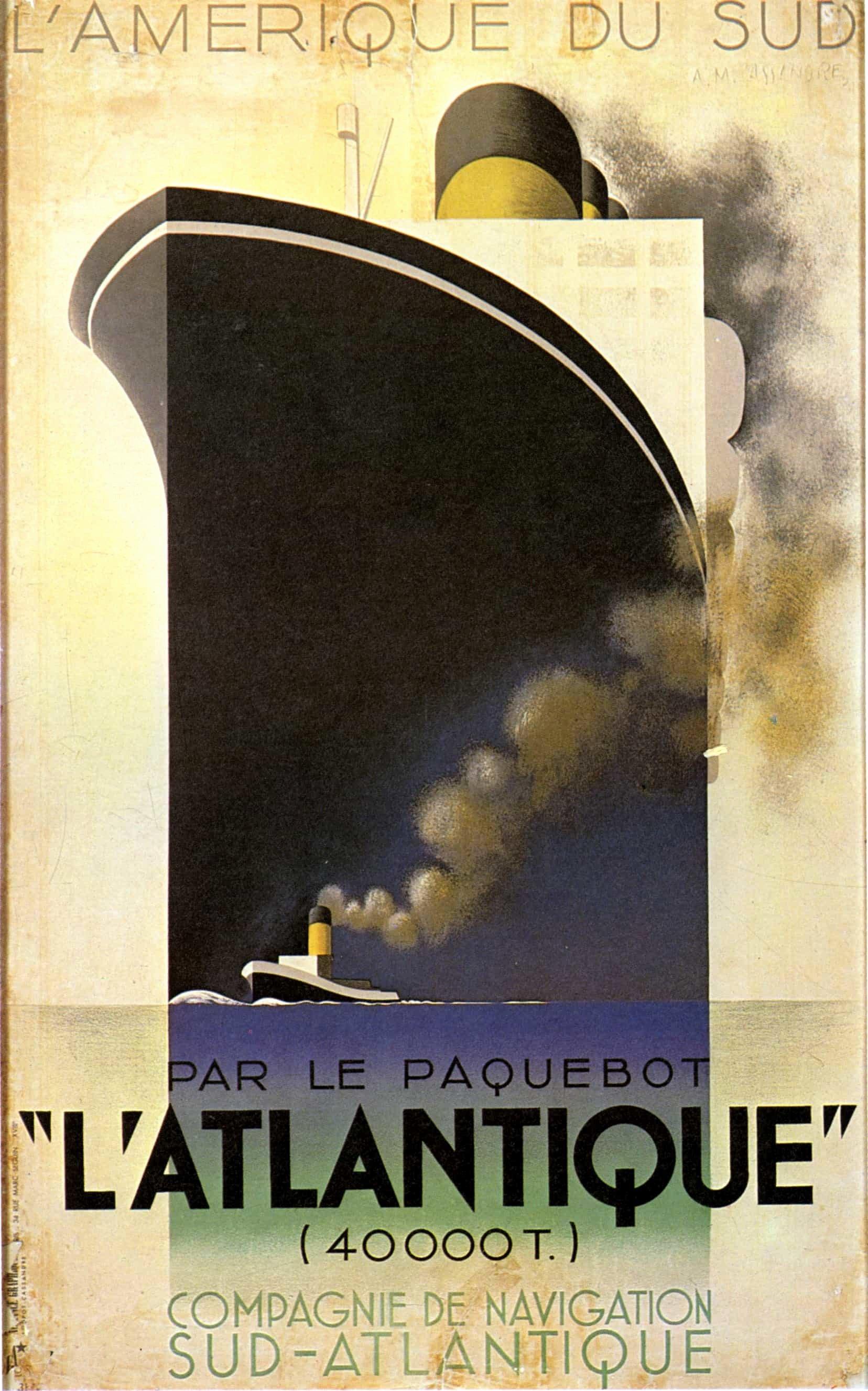 Famous Art Deco Posters Luxury A M Cassandre the Legendary Art Deco Poster Artist