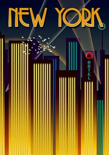 Famous Art Deco Posters Unique Contexts that Changed Graphic Design Art Deco