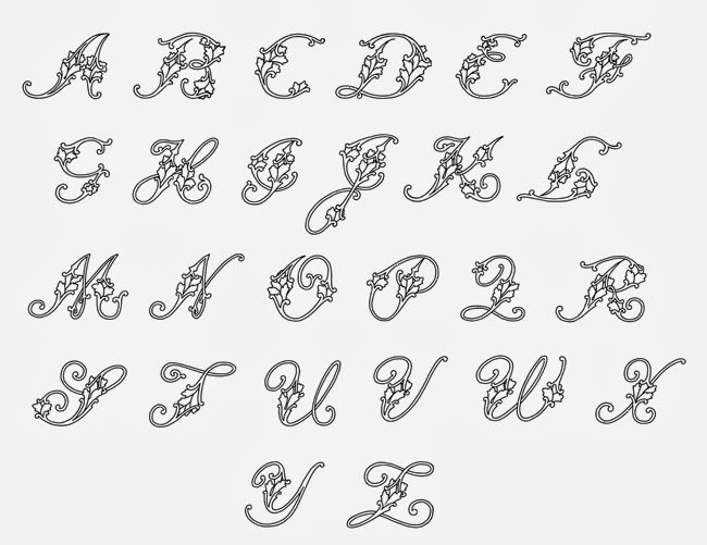 Fancy Cursive Fonts for Tattoos Beautiful Fancy Handwriting Styles