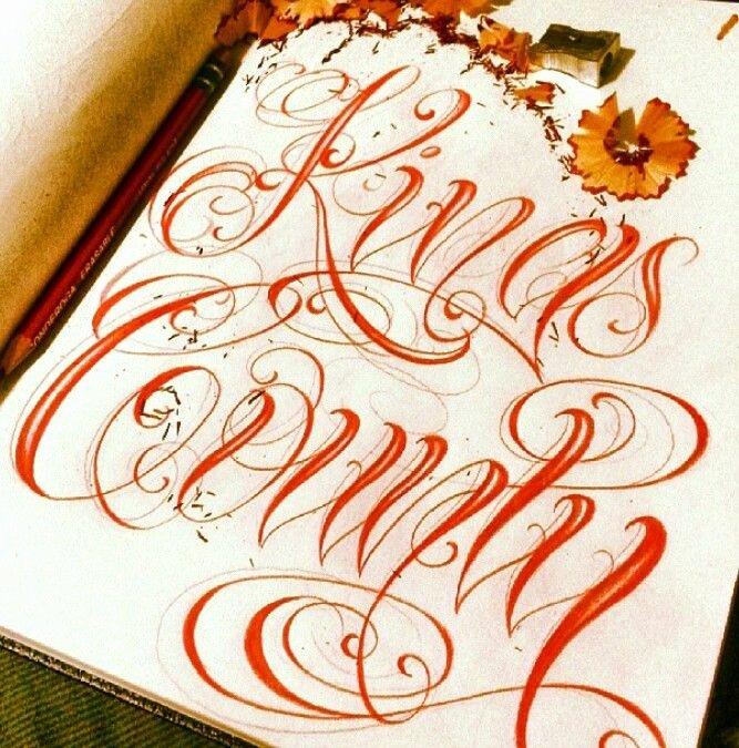 Fancy Cursive Fonts for Tattoos Lovely 10 Best Cursive Fonts Images On Pinterest