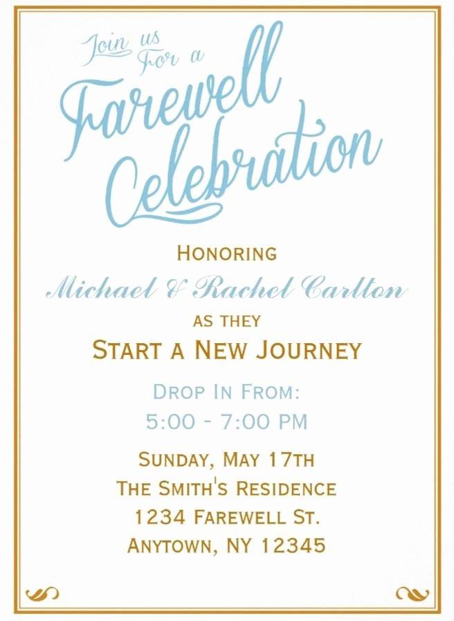 Farewell Party Invitation Wording Elegant 20 Farewell Party Invitation Templates – Psd Ai Indesign