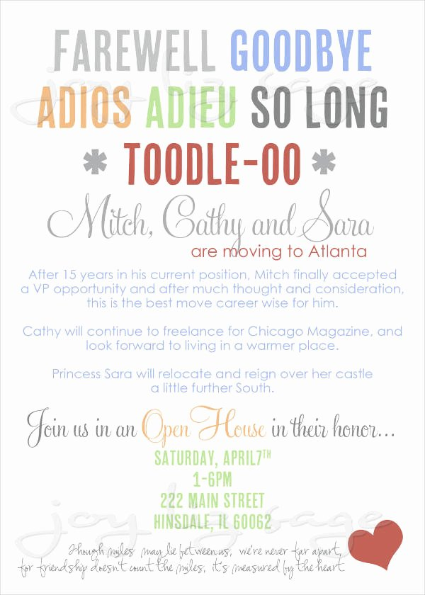 Farewell Party Invitation Wording Lovely 19 Free Email Invitation Designs Jpg Psd Ai