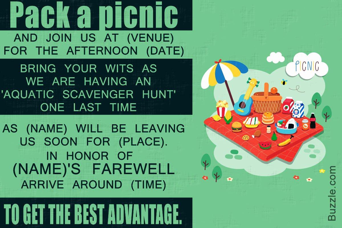 Farewell Party Invitation Wording Unique 10 Farewell Party Invitation Wordings to Bid Goodbye In Style