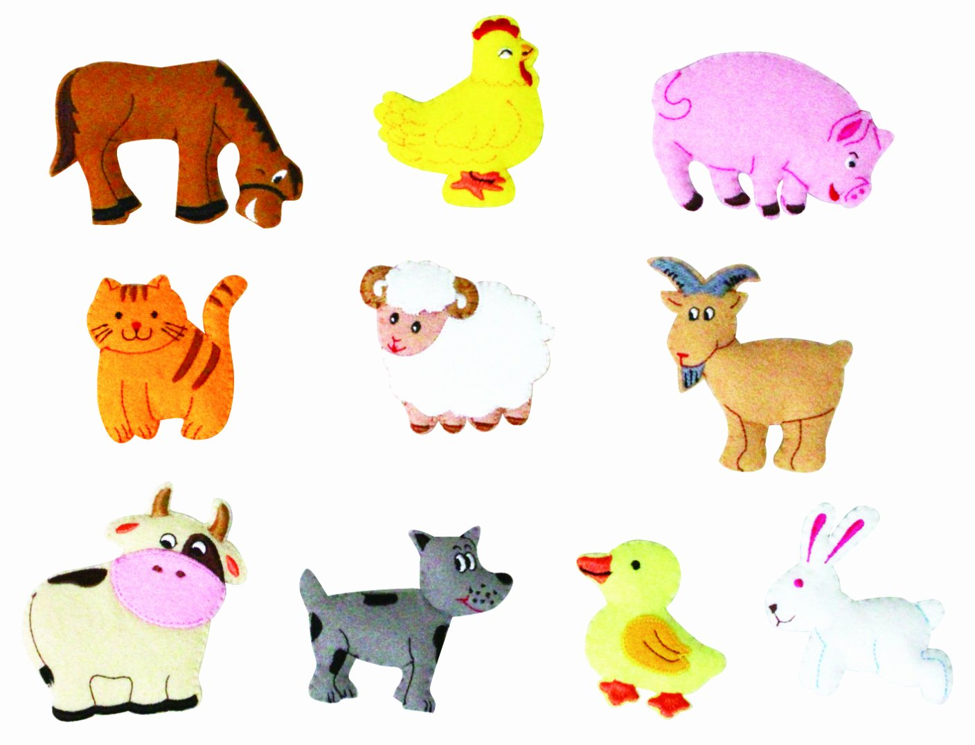 Farm Animal Cut Outs Awesome Farm Animal Cutouts Patterns