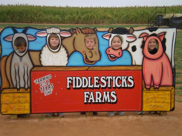 Farm Animal Cut Outs Awesome Fiddlesticks Farm Photo Animal Cutout Faces