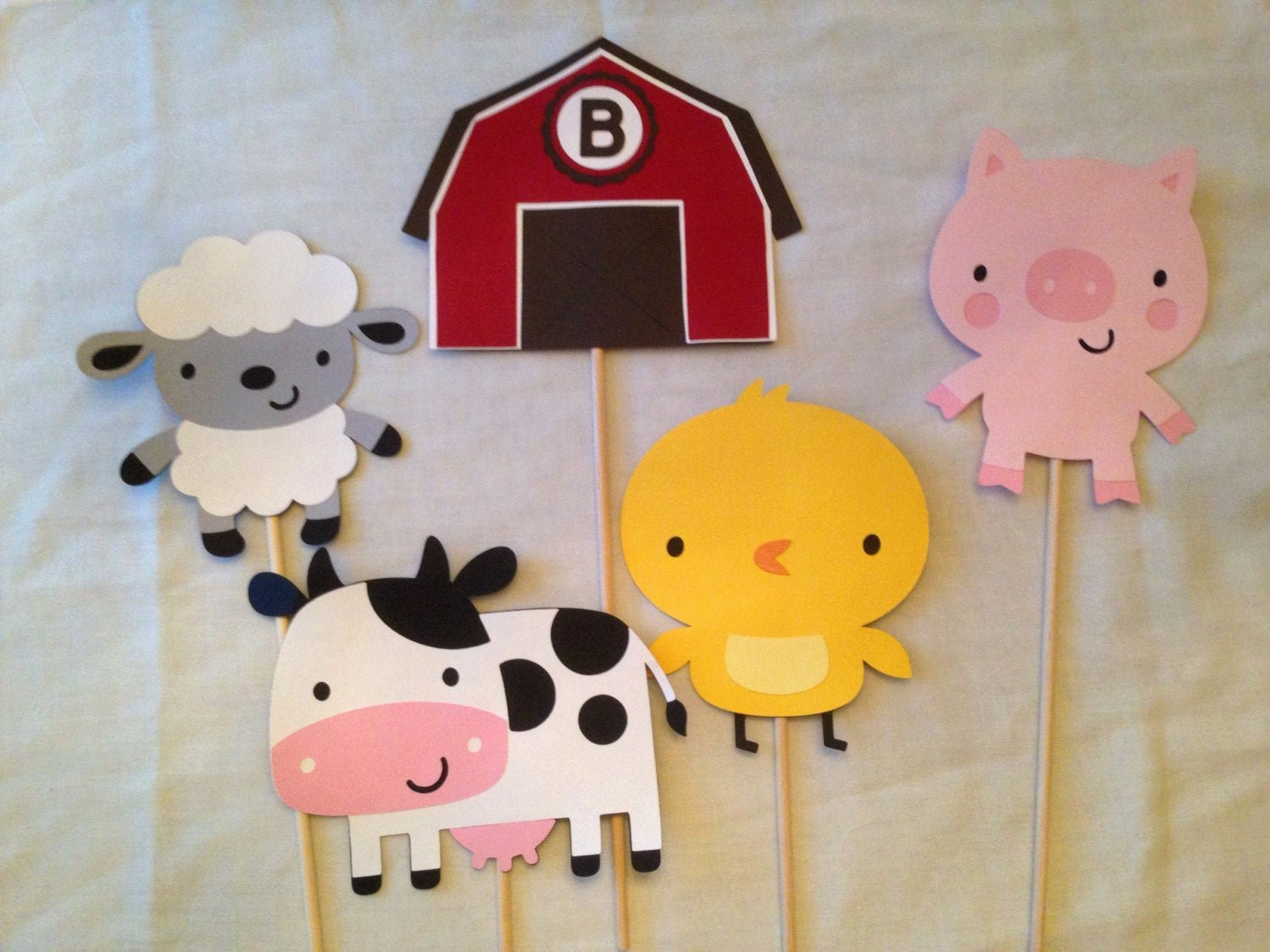 barnyard farm cutouts animal cutouts