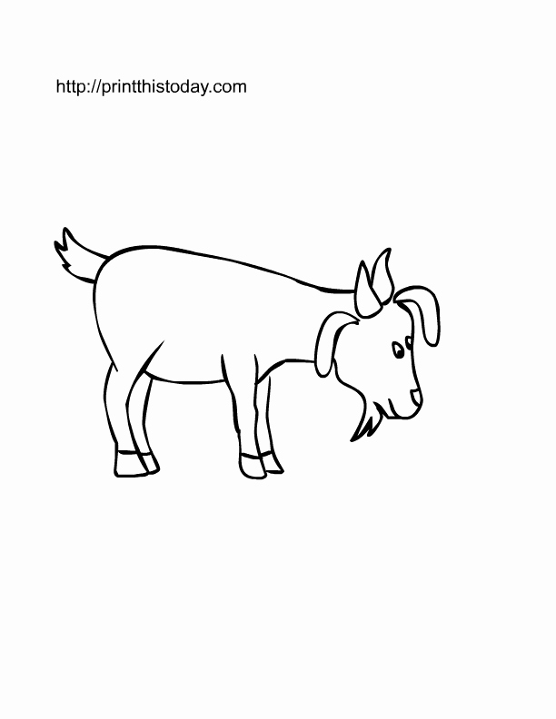 Farm Animal Cut Outs Best Of Free Printable Farm Animals Coloring Pages