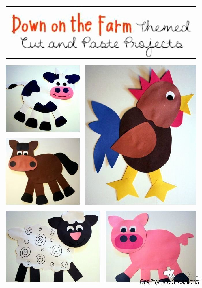 Farm Animal Cut Outs Elegant 78 Best Images About Pre K Farm theme Crafts Worksheets On