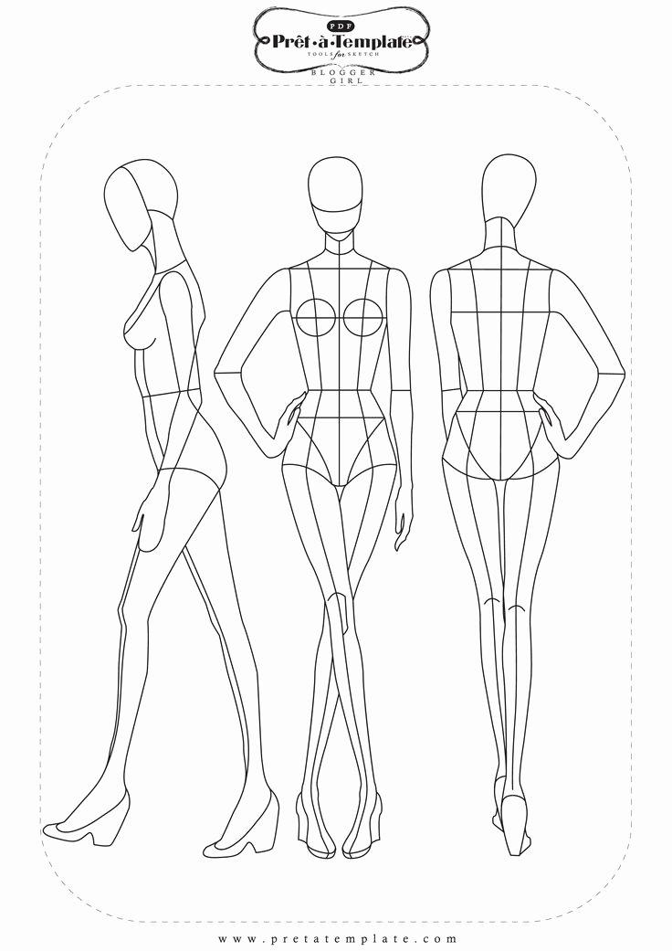 Fashion Design Template Female Inspirational Pin by Tzu Yueh Chen On Fashion Illustration