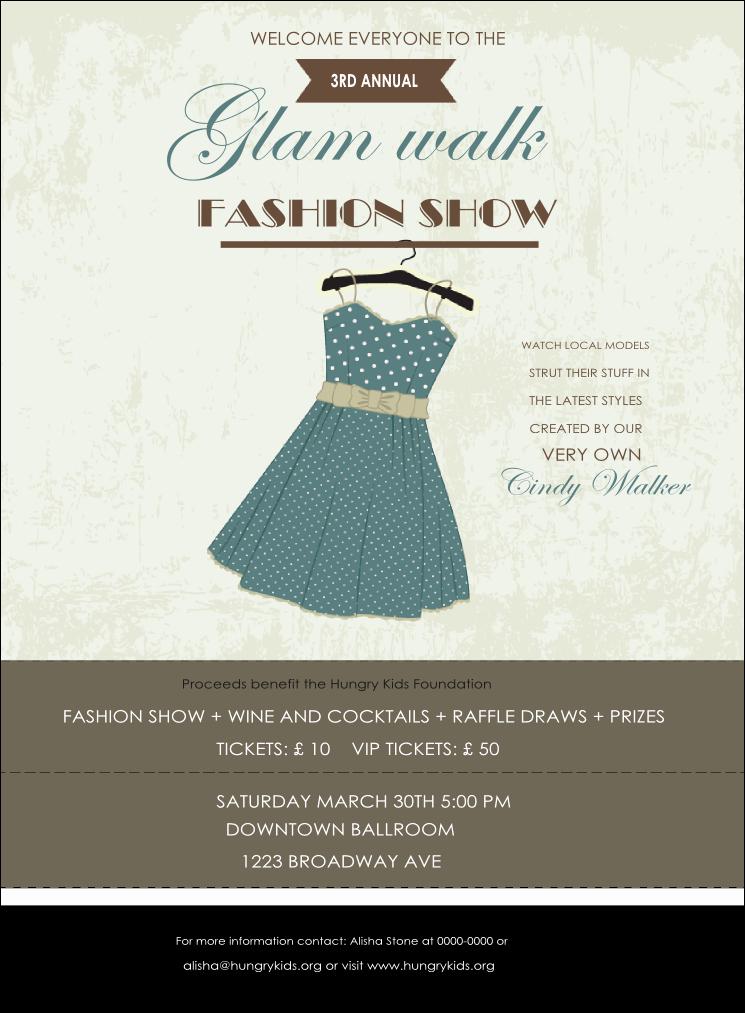 Fashion Show Invitations Templates Awesome Fashion Show Invitation