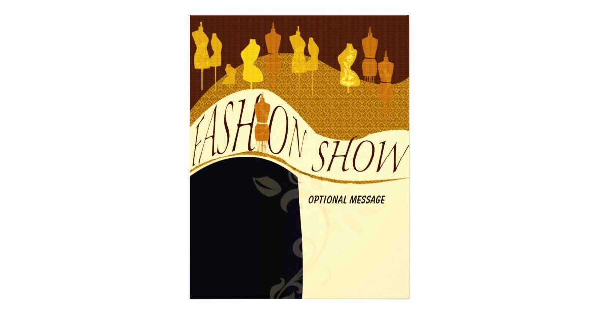 Fashion Show Invitations Templates Best Of Fashion Designer Fashion Show Invitation Flyer