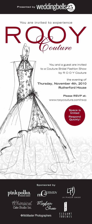 Fashion Show Invitations Templates Elegant Fashion Show Invitation Google Search