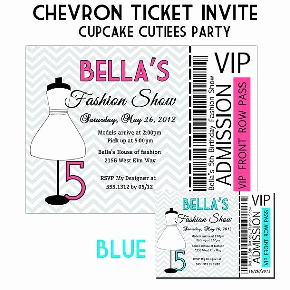 Fashion Show Invitations Templates Lovely 158 Best Images About Party Ideas for the Wee Es On