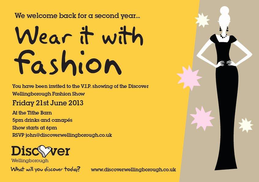 Fashion Show Invitations Templates New 7 Best Of Business Postcard Invitations Doterra