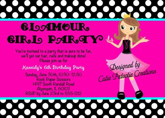 Fashion Show Invitations Templates Unique Fashion Show Birthday Party Invitations Ideas – Bagvania