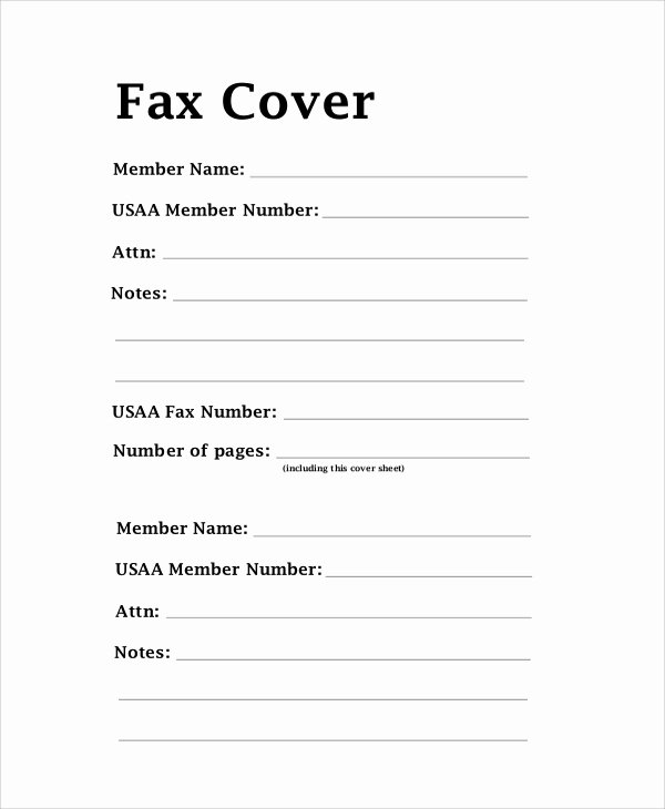 Fax Cover Page Sample Beautiful 8 Sample Fax Cover Letters Pdf Word