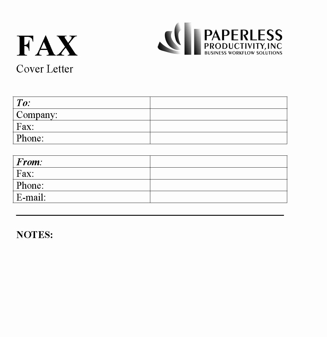Fax Cover Page Sample Lovely Business Fax Cover Letter