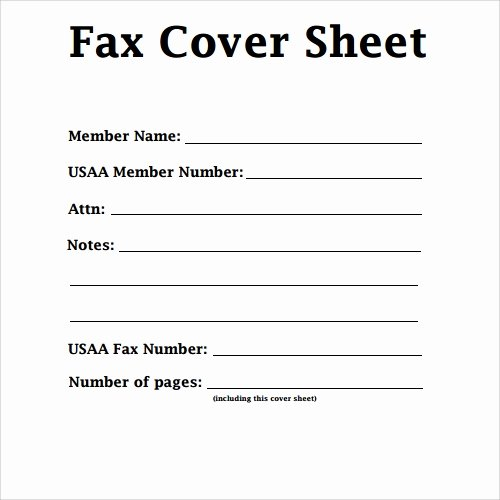 Fax Cover Page Template Unique Sample Fax Cover Sheet Template 27 Documents In Pdf Word