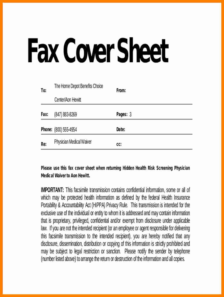 Fax Cover Sheet Confidential Best Of 6 Confidentiality Statement for Fax
