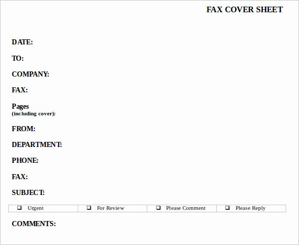 Fax Cover Sheet Confidential Inspirational Sample Confidential Fax Cover Sheet 12 Documents In Pdf