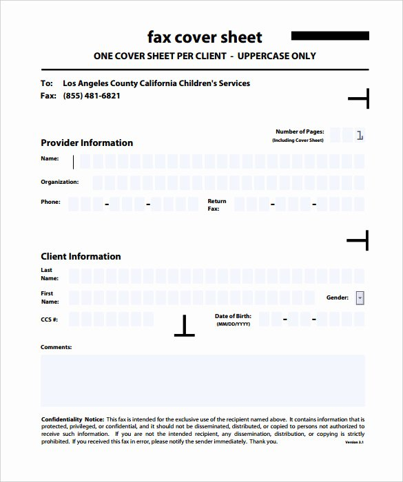 Fax Cover Sheet Confidential Luxury 9 Confidential Fax Cover Sheet Templates Doc Pdf