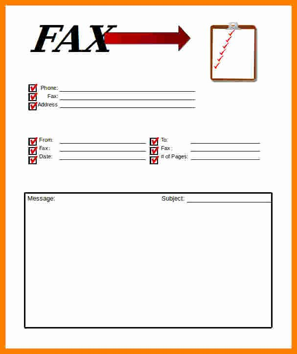 Fax Cover Sheet Disclaimer Fresh 5 Professional Fax Cover Sheet Template