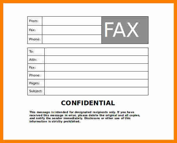 Fax Cover Sheet Disclaimer Fresh 6 Fax Cover Sheet Disclaimer Sample