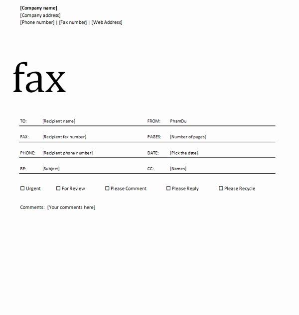 Fax Cover Sheet Disclaimer Luxury 14 Word Cover Page Design Microsoft Word Cover