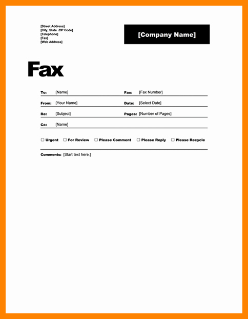 Fax Cover Sheet Disclaimer Luxury 7 Fax Transmittal Cover Sheet