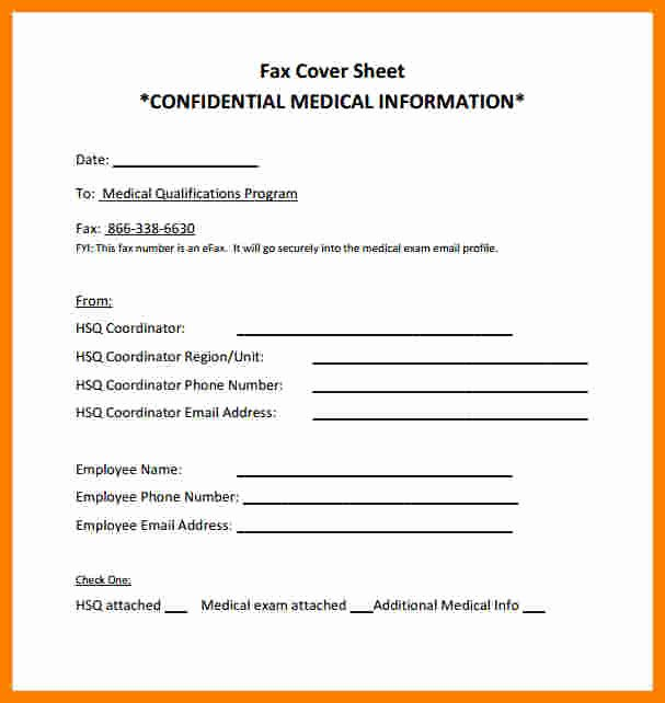 Fax Cover Sheet Disclaimer Luxury 9 Confidential Cover Sheet Pdf