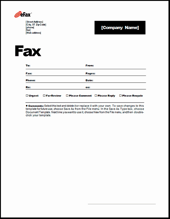 Fax Cover Sheet Word Template Beautiful 6 Fax Cover Sheet Templates Excel Pdf formats