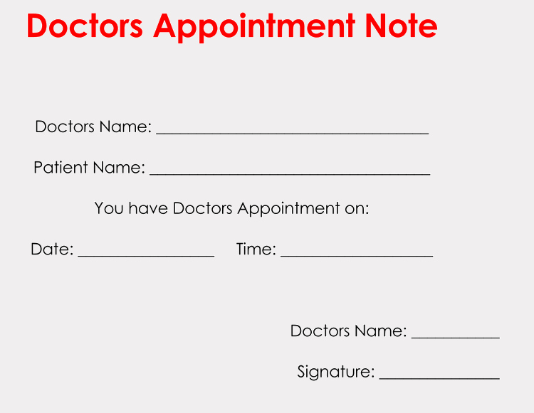 Fill In Doctor Note Beautiful 36 Free Fill In Blank Doctors Note Templates for Work