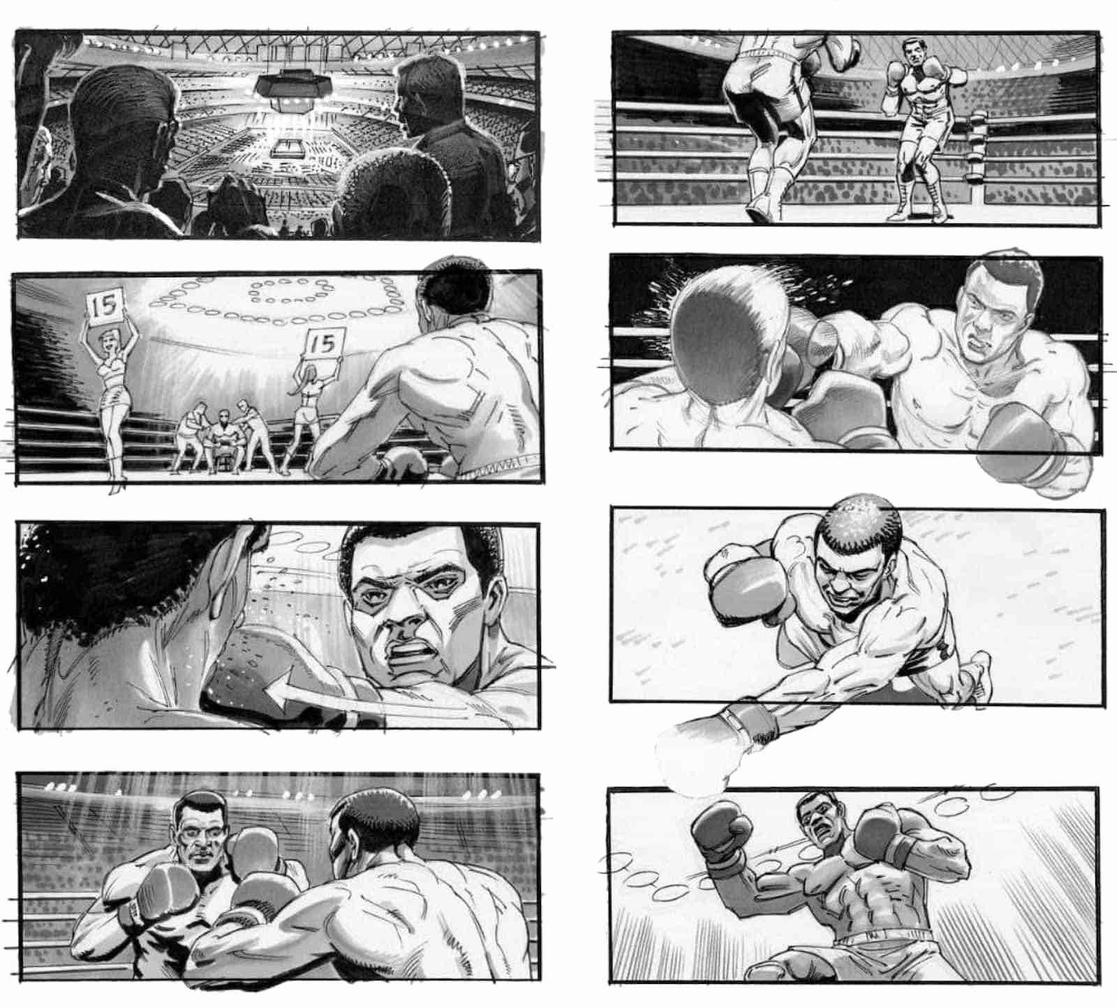 Film Story Board Template Beautiful 23 Best Movie Storyboard Examples with Free Storyboard