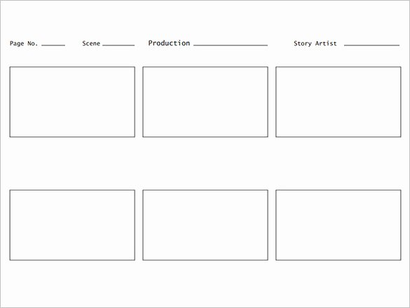 Film Story Board Template Beautiful 7 Movie Storyboard Templates Doc Excel Pdf Ppt