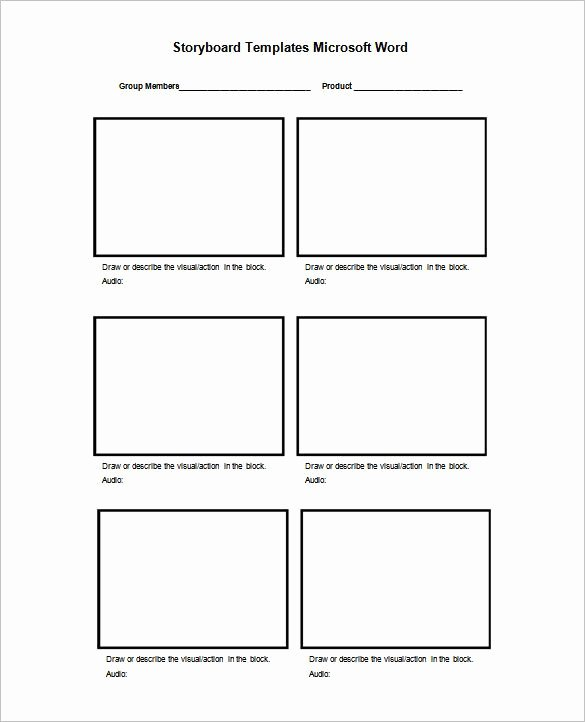 Film Story Board Template Best Of 8 Best Storyboard Template Images On Pinterest