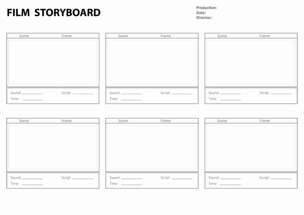 Film Story Board Template Best Of Royalty Free Storyboard Clip Art Vector
