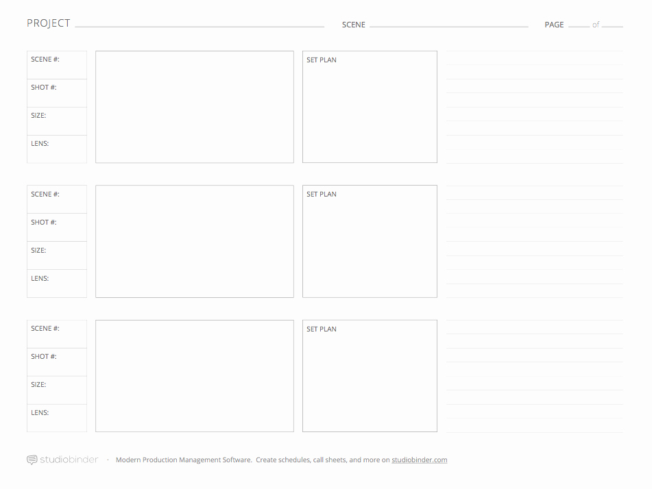 Film Story Board Template Fresh Download these 7 Storyboard Templates for Free From