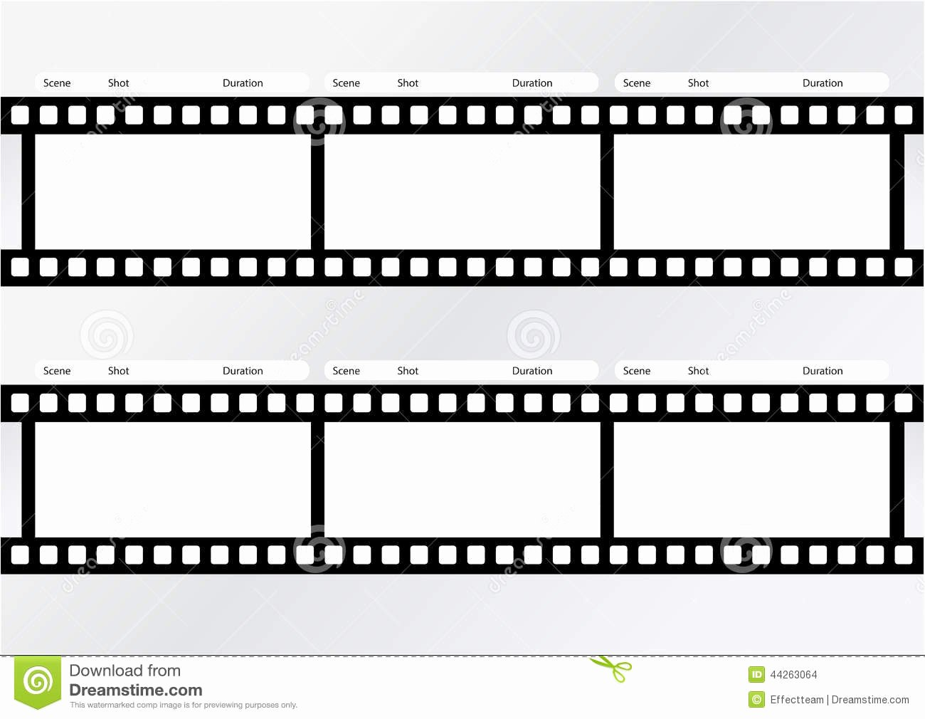Film Story Board Template Lovely Professional Storyboard Strip Template Stock